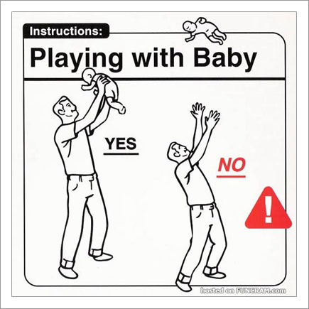 Baby Instructions For New Parents: Playing With Baby