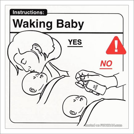 Baby Instructions For New Parents: Waking Baby