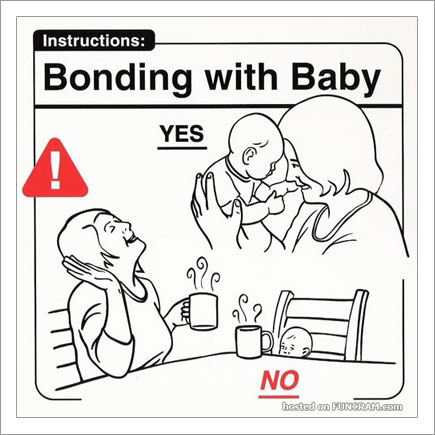 Baby Instructions For New Parents: Bonding With Baby