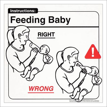 Baby Instructions For New Parents: Feeding Baby