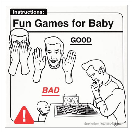 Baby Instructions For New Parents: Fun Games For Baby