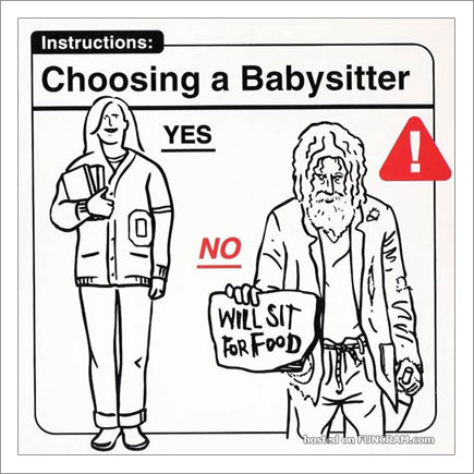 Baby Instructions For New Parents: Choosing A Babysitter