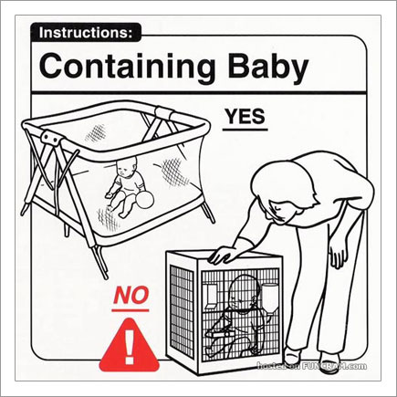 Baby Instructions For New Parents: Containing Baby